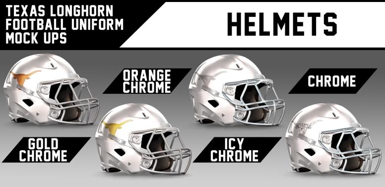 UT Helmet Chromed Alternates